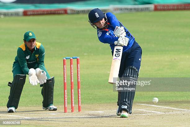 Sarah Taylor of England during the One Day International match between South African Women and England Women at Willowmoore Park on February 07 2016...