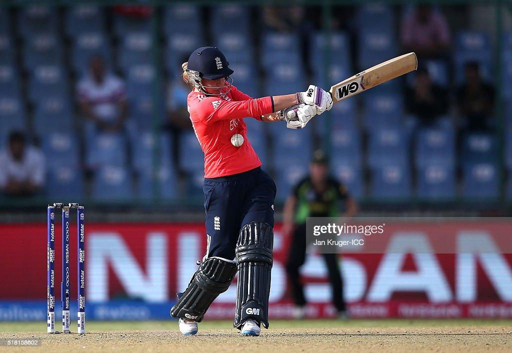 Women's ICC World Twenty20 India 2016: Semi Final - England v Australia