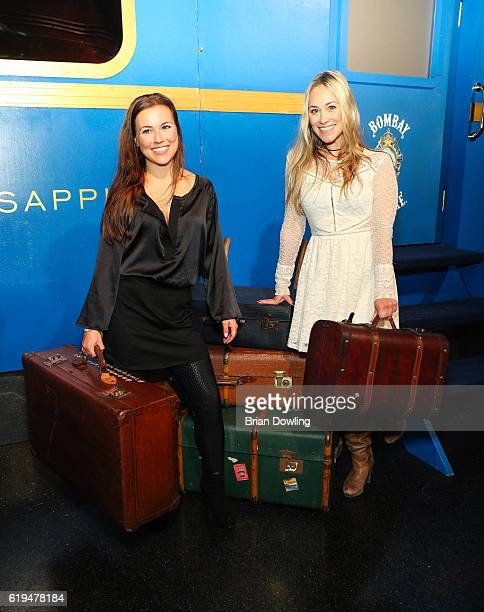 Sarah Tkotsch and Sina Tkotsch attend 'The Grand Journey' Project by Bombay Sapphire at WECC on October 31 2016 in Berlin Germany