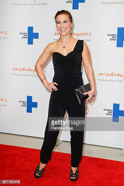 Sarah Tkotsch attends the 18th Media Award by Kindernothilfe at Volkswagen Group Forum on November 4 2016 in Berlin Germany