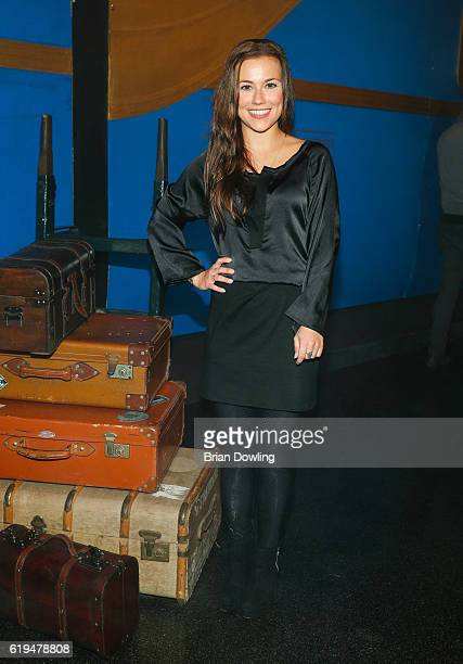 Sarah Tkotsch attends 'The Grand Journey' Project by Bombay Sapphire at WECC on October 31 2016 in Berlin Germany