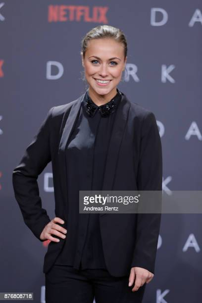 Sarah Tkotsch attends the premiere of the first German Netflix series 'Dark' at Zoo Palast on November 20 2017 in Berlin Germany