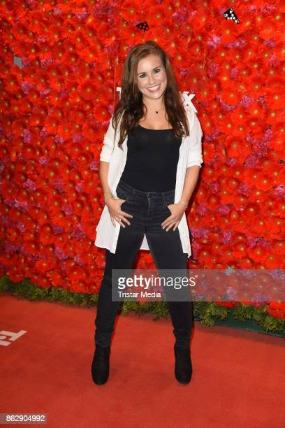 Sarah Tkotsch attends the TK Maxx 10th anniversary celebration on October 18 2017 in Berlin Germany