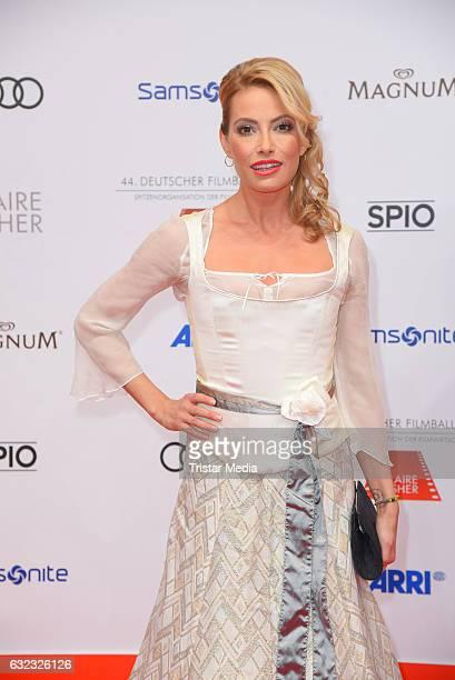 Sarah Valentina Winkhaus attends the German Film Ball 2017 at Hotel Bayerischer Hof on January 21 2017 in Munich Germany