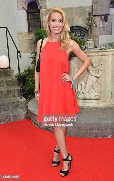 Sarah Valentina Winkhaus during the Bavaria Film reception during the Munich Film Festival 2016 at Kuenstlerhaus am Lenbachplatz on June 28 2016 in...