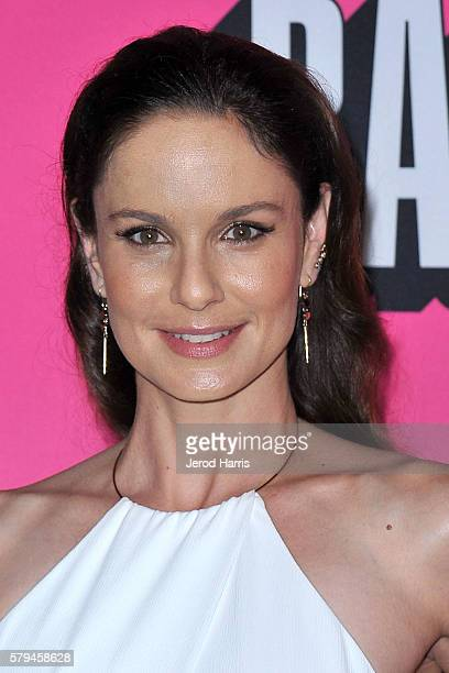 Sarah Wayne Callies arrives at Entertainment Weekly's Annual ComicCon Party at Float at Hard Rock Hotel San Diego on July 23 2016 in San Diego...