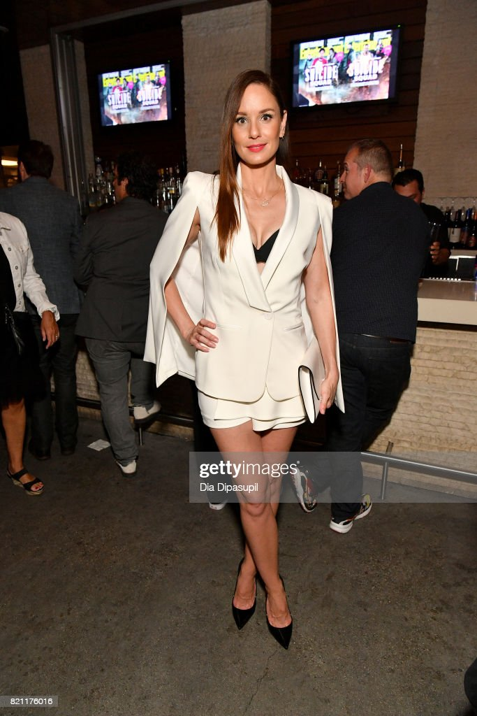 Sarah Wayne Callies at Entertainment Weekly's annual Comic-Con party in celebration of Comic-Con 2017 at Float at Hard Rock Hotel San Diego on July 22, 2017 in San Diego, California.