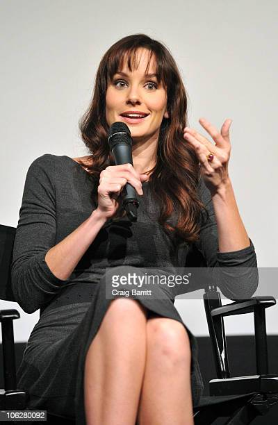 Sarah Wayne Callies attends 'The Walking Dead' Screening And Panel For SAG Nominating Committee at Pacific Design Center on October 27 2010 in West...