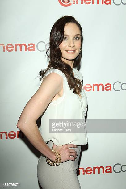 Sarah Wayne Callies attends Warner Bros Pictures' The Big Picture an Exclusive Presentation at Cinemacon 2014 Day 4 held at The Colosseum at Caesars...