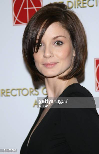 Sarah Wayne Callies during 11th Annual Art Directors Guild Awards Arrivals at Beverly Hilton Hotel in Beverly Hills California United States