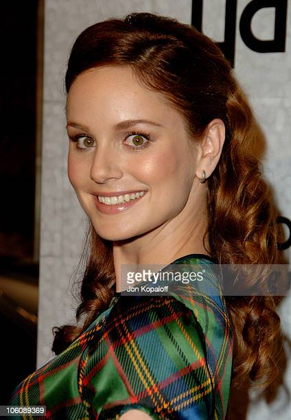 Sarah Wayne Callies during 'Prison Break' End of Season Screening Party at Fox Lot in Los Angeles California United States