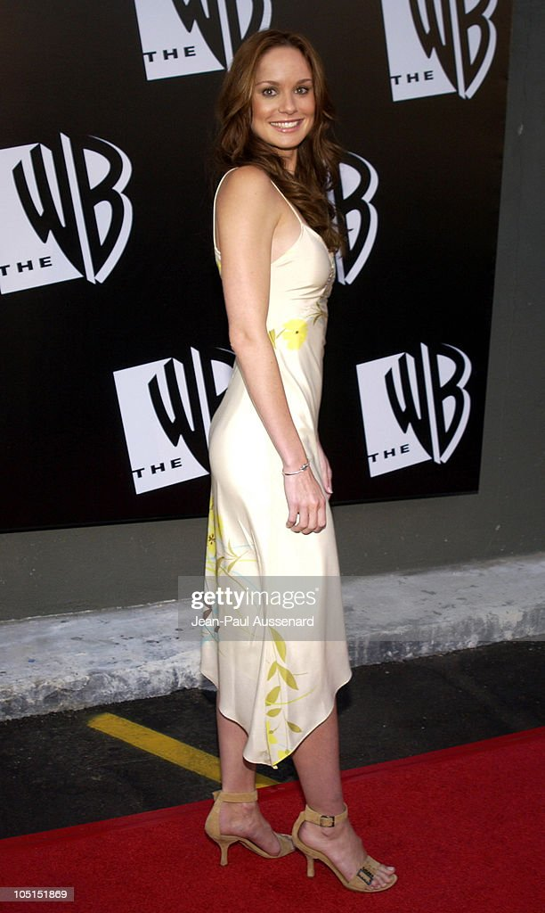 <a gi-track='captionPersonalityLinkClicked' href=/galleries/search?phrase=Sarah+Wayne+Callies&family=editorial&specificpeople=607272 ng-click='$event.stopPropagation()'>Sarah Wayne Callies</a> during The WB Network's 2003 All Star Party at White Lotus in Hollywood, California, United States.