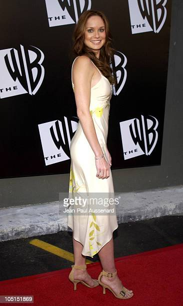 Sarah Wayne Callies during The WB Network's 2003 All Star Party at White Lotus in Hollywood California United States