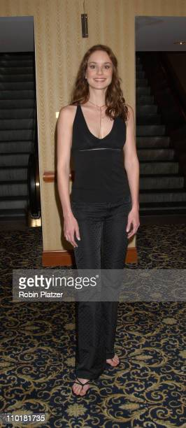 Sarah Wayne Callies during WB Television Network 2003 2004 Upfront Presentation at Sheraton Hotel in New York NY United States