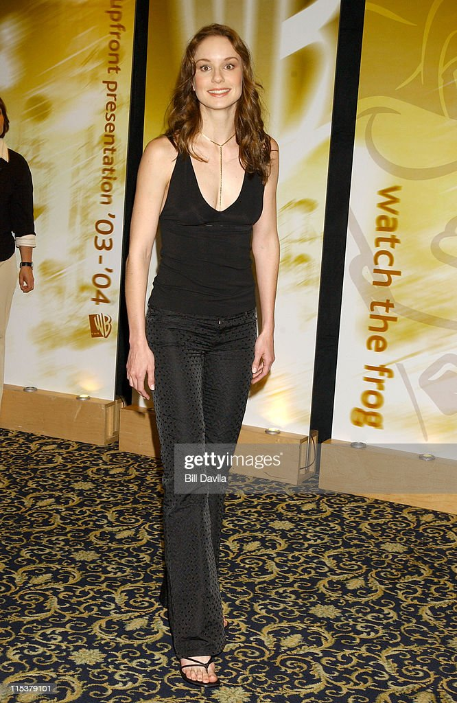 <a gi-track='captionPersonalityLinkClicked' href=/galleries/search?phrase=Sarah+Wayne+Callies&family=editorial&specificpeople=607272 ng-click='$event.stopPropagation()'>Sarah Wayne Callies</a> during WB Television Network 2003 2004 Upfront Presentation at Sheraton Hotel in New York, NY, United States.