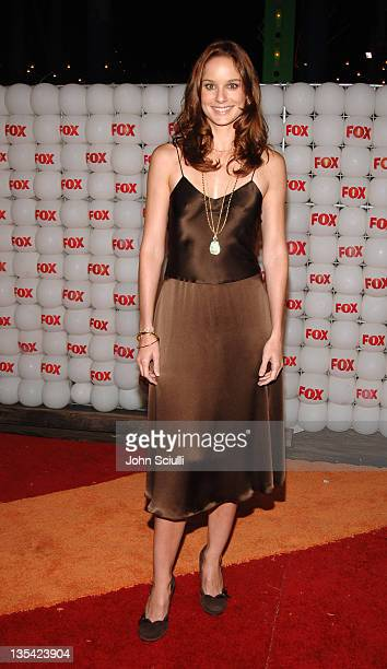 Sarah Wayne Callies of 'Prison Break' during FOX Summer 2005 AllStar Party Red Carpet at Santa Monica Pier in Santa Monica California United States