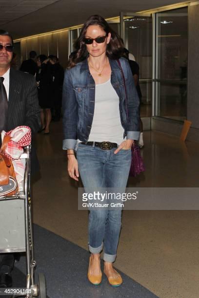 Sarah Wayne Callies seen at LAX on July 29 2014 in Los Angeles California