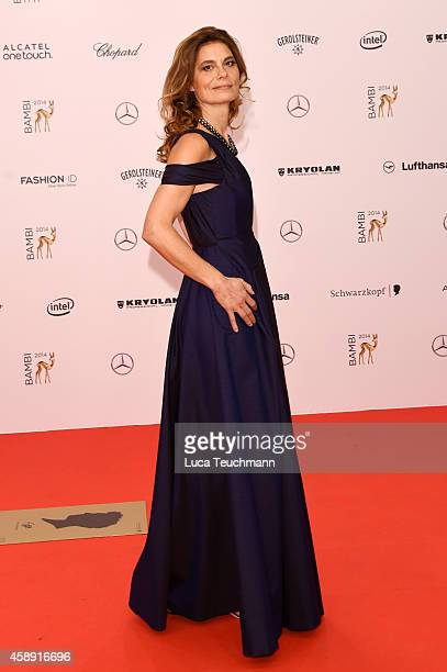 Sarah Wiener attends Kryolan at the Bambi Awards 2014 on November 13 2014 in Berlin Germany