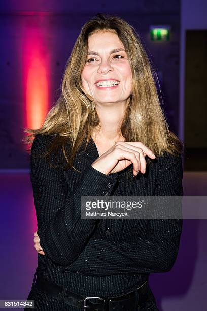 Sarah Wiener attends the 12th Long Night of the Sueddeutsche Zeitung at Palazzo Italia on January 11 2017 in Berlin Germany