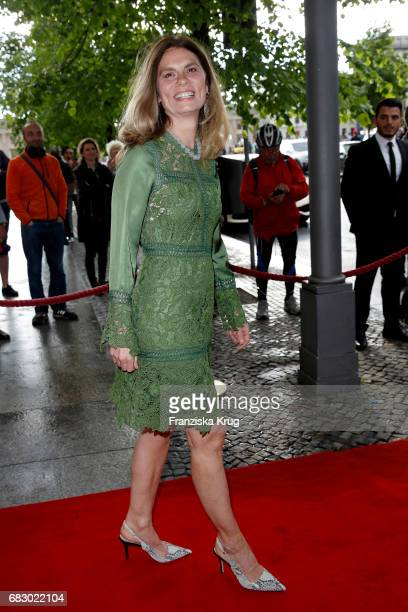 Sarah Wiener attends the Felix Burda Award at Hotel Adlon on May 14 2017 in Berlin Germany