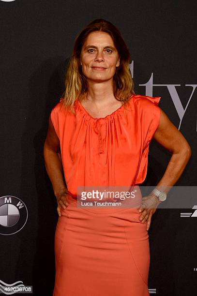 Sarah Wiener attends the Michalsky Style Night at Tempodrom on July 11 2014 in Berlin Germany