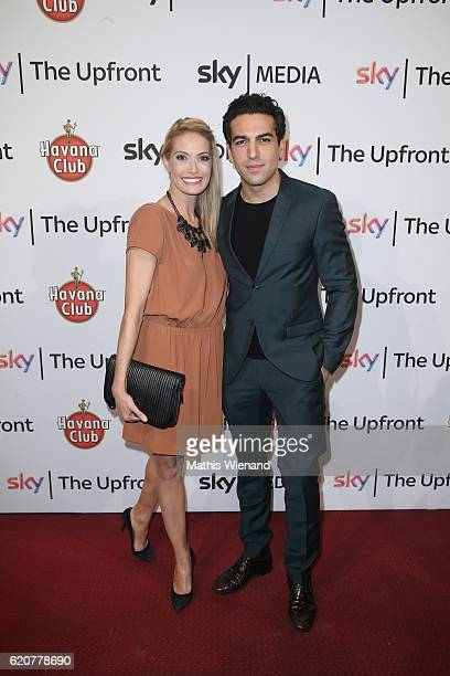 Sarah Winkhaus and Elyas M'Barek attends the Sky 1 launch event at Capitol Theater on November 2 2016 in Dusseldorf Germany