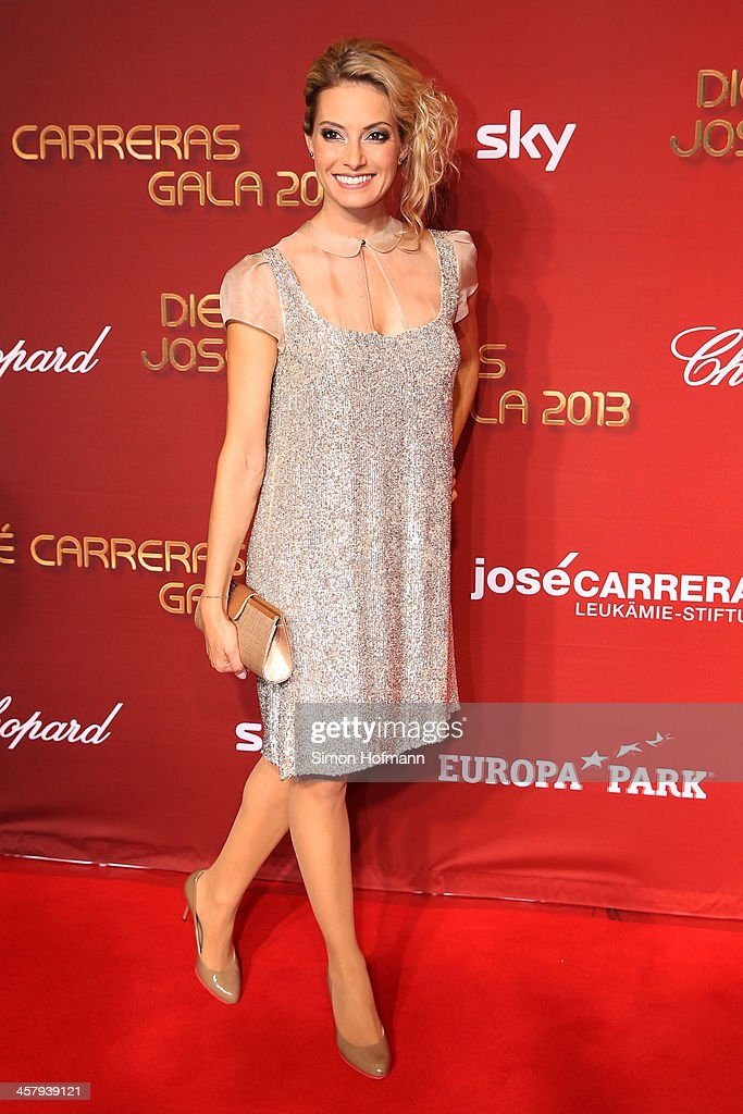 Sarah Winkhaus attends the 19th Annual Jose Carreras Gala at Europapark on December 19, 2013 in Rust, Germany.