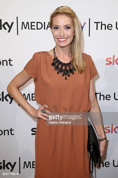 Sarah Winkhaus attends the Sky 1 launch event at Capitol Theater on November 2 2016 in Dusseldorf Germany