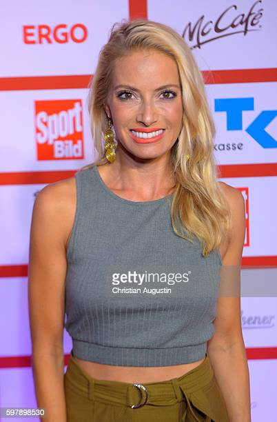 Sarah Winkhaus attends the Sport Bild Award at the Fischauktionshalle on August 29 2016 in Hamburg Germany