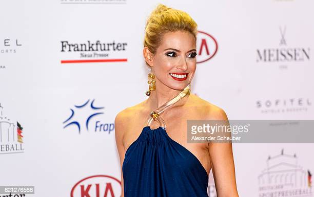 Sarah Winkhaus poses during the German Sports Media Ball at Alte Oper on November 5 2016 in Frankfurt am Main Germany