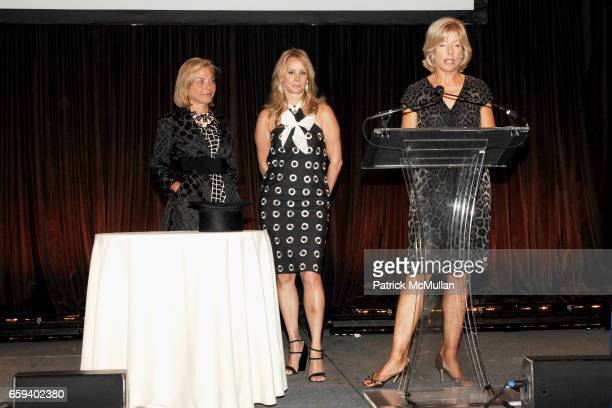 Sarah Wolfe Yaz Hernandez and Liz Peek attend The Couture Council Award for Artistry of Fashion Honoring DRIES VAN NOTEN at Cipriani 42nd Street on...