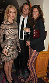 Sarah Woodhead Barnaby Thompson and Christina Robert attend 'Goldie's LoveIn For The Kids' the 4th annual Hawn Foundation UK fundraising dinner...