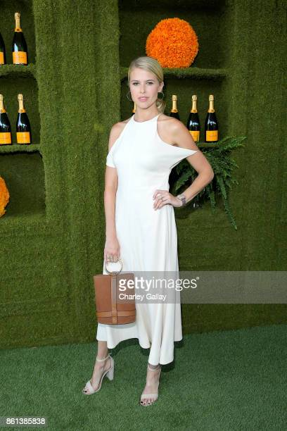 Sarah Wright at the Eighth Annual Veuve Clicquot Polo Classic on October 14 2017 in Los Angeles California