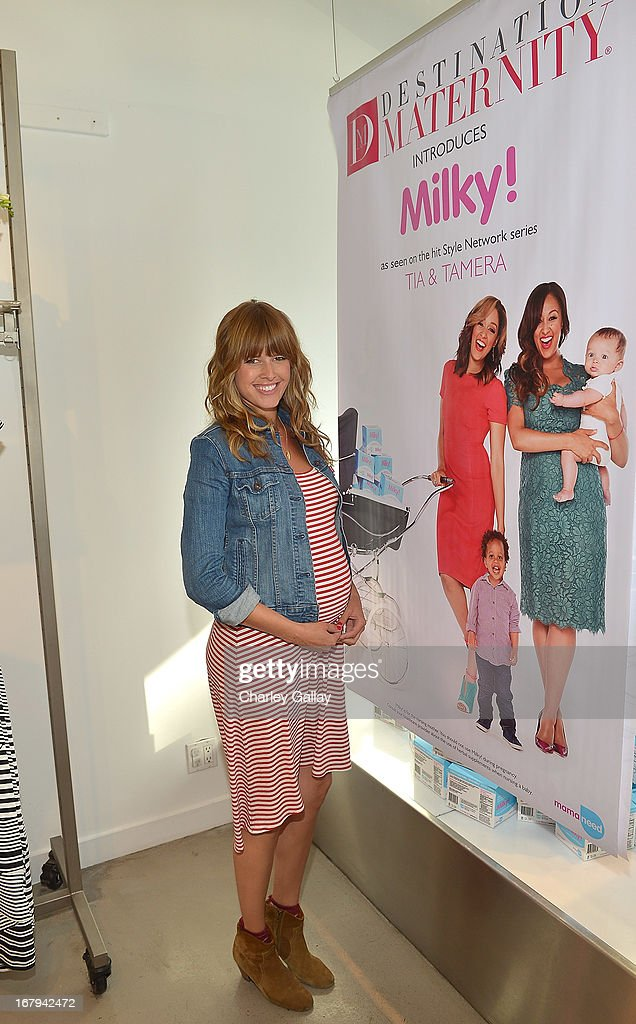 Sarah Wright attends the Milky! launch event at A Pea In The Pod on May 2, 2013 in Beverly Hills, California.