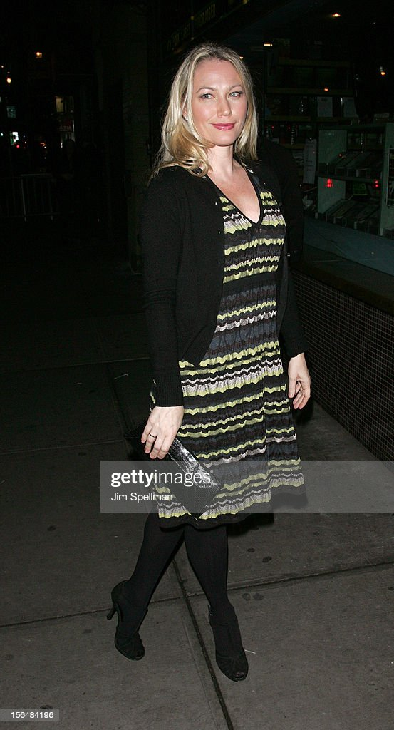 Sarah Wynter attends The Cinema Society with The Hollywood Reporter & Samsung Galaxy screening of 'The Twilight Saga: Breaking Dawn Part 2' on November 15, 2012 at the Landmark Sunshine Cinema in New York City.