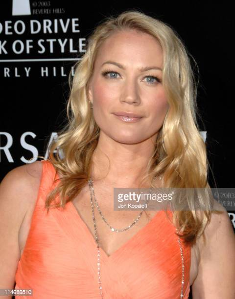 Sarah Wynter during Gianni and Donatella Versace Receive The Rodeo Drive Walk of Style Award Arrivals at Beverly Hills City Hall in Beverly Hills...