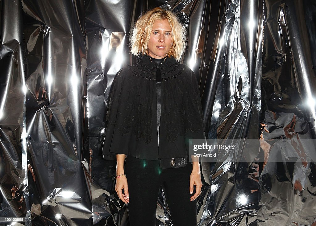 Sarah-Jane Clarke attends the Ellery show during Mercedes-Benz Fashion Week Australia Spring/Summer 2013/14 at an offsite venue on April 9, 2013 in Sydney, Australia.