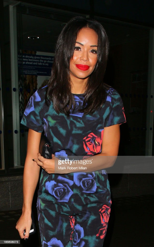 Sarah-Jane Crawford attending the Claire's Accessories party on October 22, 2013 in London, England.