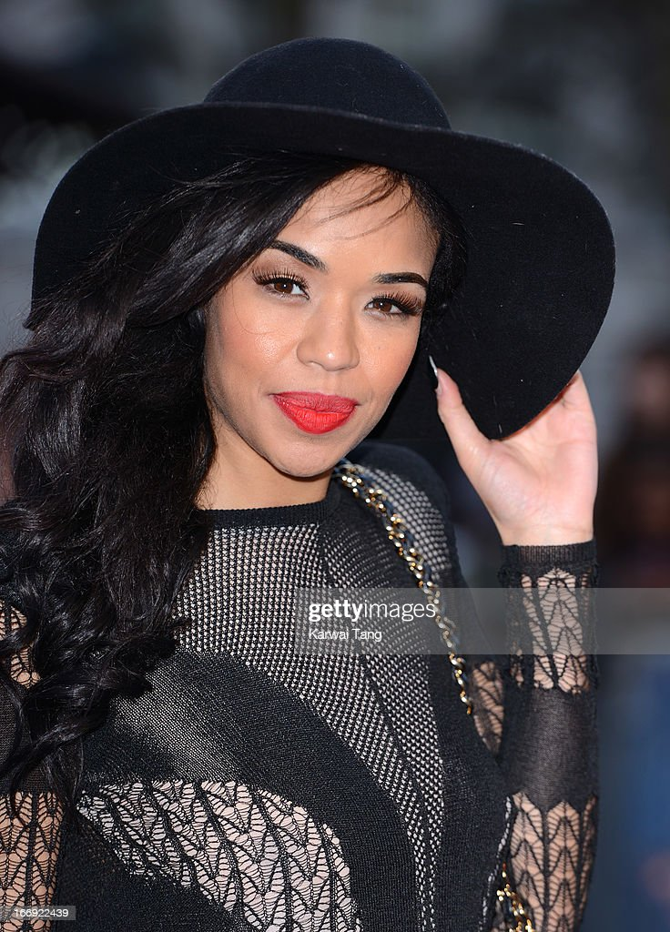 Sarah-Jane Crawford attends a special screening of 'Iron Man 3' at Odeon Leicester Square on April 18, 2013 in London, England.