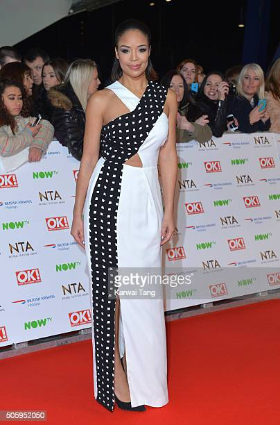 SarahJane Crawford attends the 21st National Television Awards at The O2 Arena on January 20 2016 in London England