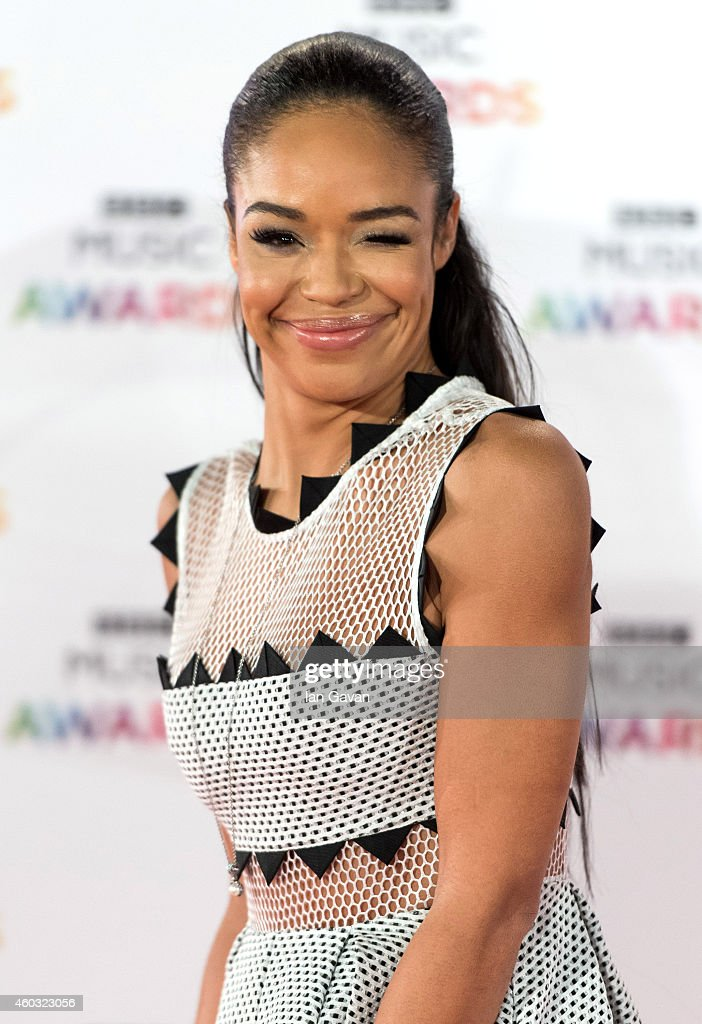 SarahJane Crawford attends the BBC Music Awards at Earl's Court Exhibition Centre on DECEMBER 11 2014 in London England