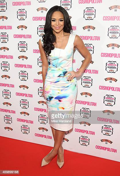 SarahJane Crawford attends the Cosmopolitan Ultimate Women of the Year Awards at One Mayfair on December 3 2014 in London England