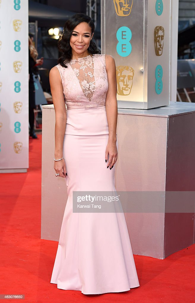 SarahJane Crawford attends the EE British Academy Film Awards at The Royal Opera House on February 8 2015 in London England