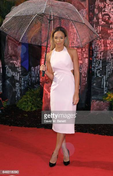 SarahJane Crawford attends the European Premiere of 'Kong Skull Island' on February 28 2017 in London England