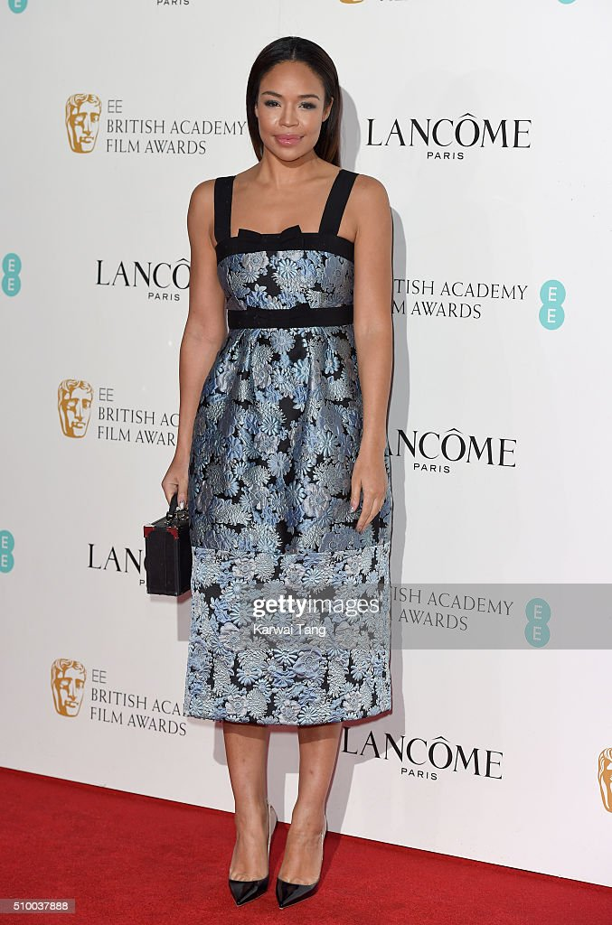 <a gi-track='captionPersonalityLinkClicked' href=/galleries/search?phrase=Sarah-Jane+Crawford&family=editorial&specificpeople=4952519 ng-click='$event.stopPropagation()'>Sarah-Jane Crawford</a> attends the Lancome BAFTA nominees party at Kensington Palace on February 13, 2016 in London, England.