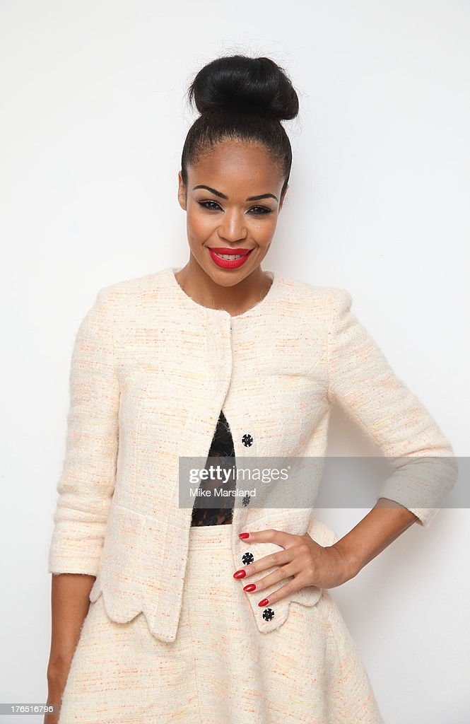 Sarah-Jane Crawford attends the launch of Urban Expression by Swatch at Blackall Studios on August 14, 2013 in London, England.