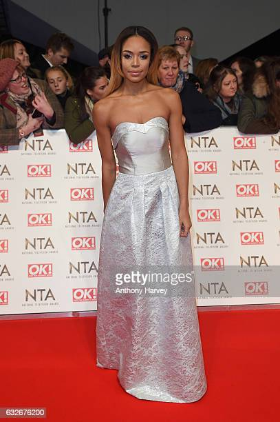 SarahJane Crawford attends the National Television Awards on January 25 2017 in London United Kingdom