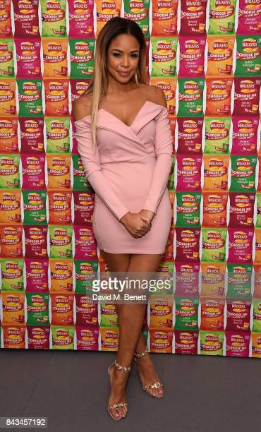 SarahJane Crawford attends the Walkers Choose or Lose Campaign Launch Event on September 6 2017 in London England