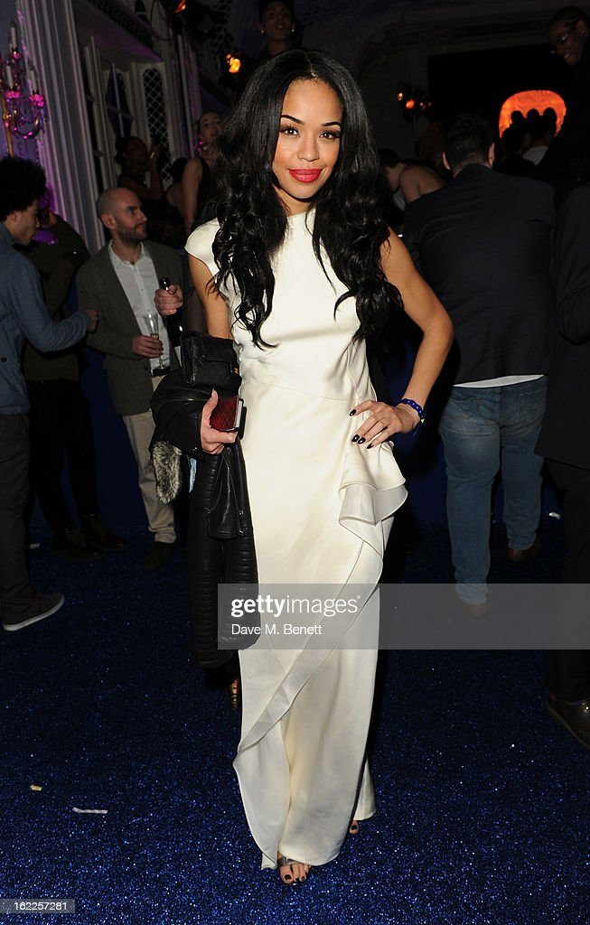 Sarah-Jane Crawford attends the Warner Music Group Post BRIT Party In Association With Samsung at The Savoy Hotel on February 20, 2013 in London, England.