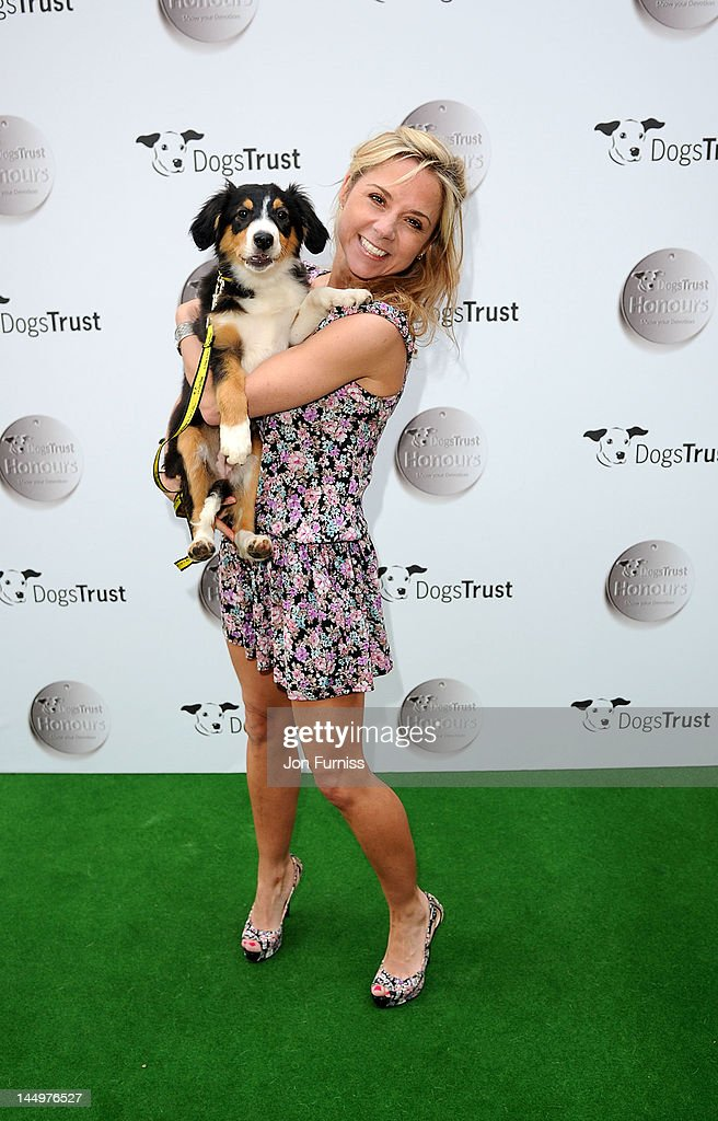 Sarah-Jane Honeywell attends the 21st Dog Trust Awards at Honourable Artillery Company on May 21, 2012 in London, England.